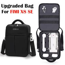 Ulepszony plecak na ramię plecak dla Xiaomi FIMI X8 SE Quadcopter akcesoria odporny na wstrząsy ramię Carry schowek na okulary torby tanie tanio Yoteen 440g 30-22-14 5cm 20-35L Black