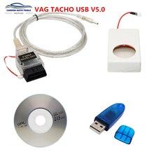 Pour VAG Tacho 5.0, Version USB FT245RL VAGTACHO prend en charge VDO NEC MCU 24C32 ou 24C64 VAG Tacho V5.0, qualité Stable, livraison gratuite