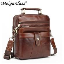 2019 Business Mens Bags Handbags Genuine Leather Messenger S