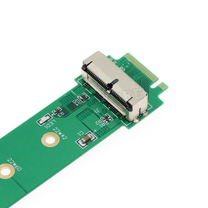 Адаптер для M.2 NGFF X4 адаптер NGFF-312B для Apple MacBook Air Mac Pro 2013 2014 2015 A1465 A1466 SSD для настольного компьютера