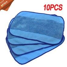 цена на 10pcs/Lot High quality Microfiber wet Mopping Cloths for iRobot Braava 321 380 320 380t mint 5200C 5200 4200 4205 Robot