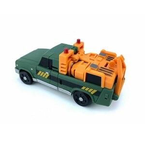 Image 5 - Carré magique ms jouets Transformation MS B10 MS B10 palan grue Mode Mini baladeur poche guerre Action figurine Robot jouets cadeau