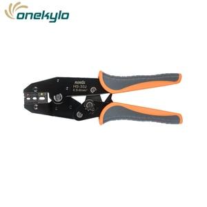Image 5 - IWISS IWS 30J 0,5 6mm ² alicate crimpador de engaste Multi herramientas de mano aislamiento de anillo y terminales de pala herramienta de engaste de 9 pulgadas