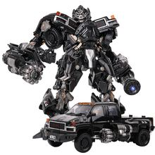 Transformation Black Mamba BMB LS 09 LS09 Weapon Ironhide KO Action Figure Alloy metal Movie Film Action Figure Deformed Toys