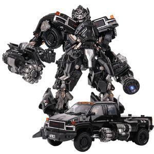 Image 1 - TransformationสีดำMamba BMB LS 09 LS09อาวุธIronhide KO Action Figureโลหะผสมโลหะภาพยนตร์Action Figureรูปของเล่น