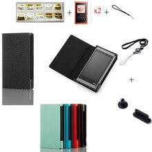 ריצה גמל Flip מלא מגן עור מקרה כיסוי עבור Sony Walkman NW A50 A55 A56 A57