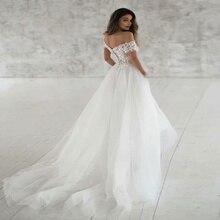 Fashion New Lace Light Wedding Dress Elegant Simple Retro Sexy Wedding Dress