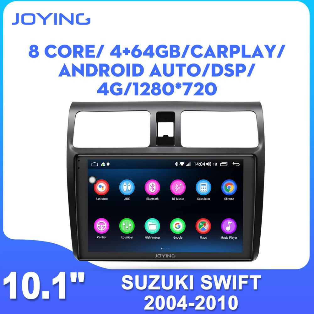 10'' IPS Screen Android car radio head unit for <font><b>Suzuki</b></font> <font><b>Swift</b></font> <font><b>2005</b></font> 2006 2007 2008 2009 2010 car stereo DSP GPS multimedia player image