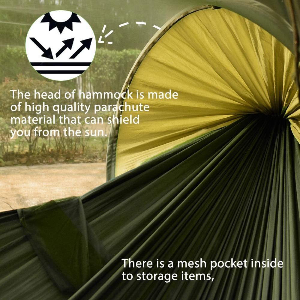 anti mosquito tenda de acampamento balanço pendurado