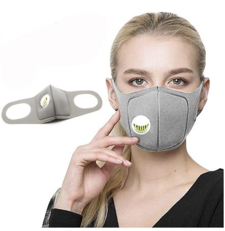 Respirator   Mask  with Breath Valve Anti-Dust Anti Pollution , anti-pollution, , anti-saliva