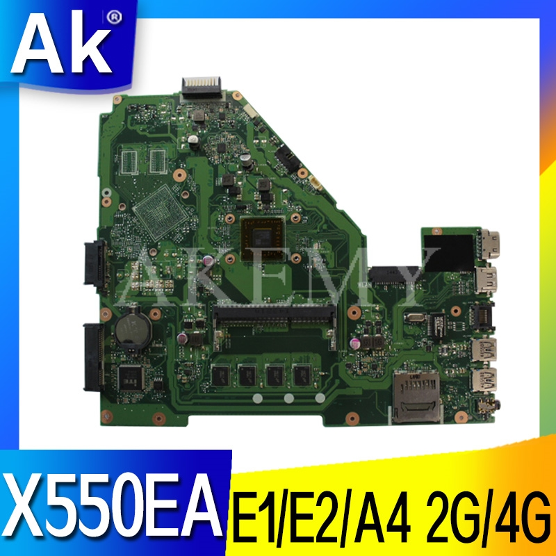 X550EP X550EA Laptop Motherboard For ASUS X550EA F552EP F552E A552E X552E D552E Original Mainboard 2G/4G RAM E1/E2/A4