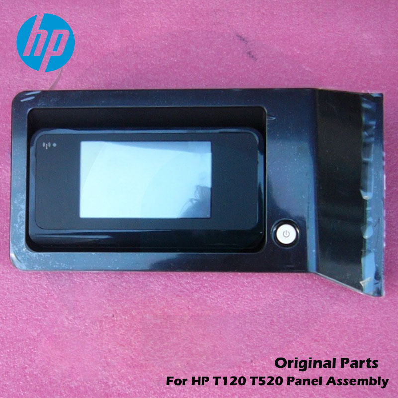 Original For HP Designjet T120 T520 HP520 HP120 Control panel assembly + Cable CQ890-67026 CQ890-67082