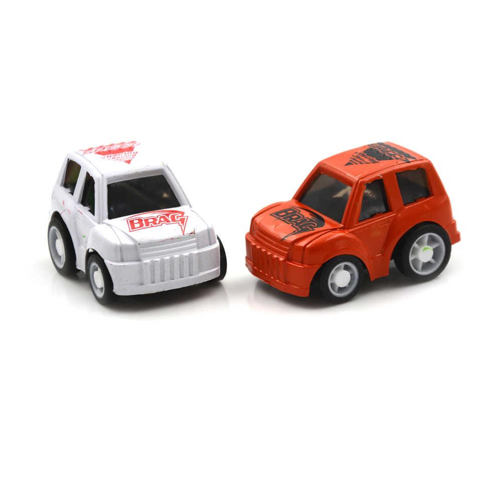 בני מתנות לילדים של צעצוע מיני מכונית תינוק צעצועי עוגת קישוט סגנון אקראי שיער diecast דגם