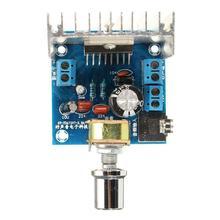 DC 12 В TDA7297 2*15 Вт Цифровой стерео аудио усилитель двухканальный усилитель модуль версия B Плата усилителя