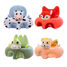 Sofa-Cover Chair-Case Baby-Seat Kids Cotton Infant Cartoon Cute Without Learning-To-Sit-Seat-Feeding