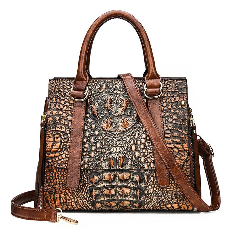 QINRANGUIO Vintage Women Bag Large Capacity Women Leather Handbags High Quality PU Leather Shoulder Crossbody Bags For Women
