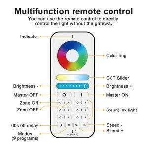 Image 3 - GLEDOPTO Controlador LED inteligente RGBCCT ZigBee Plus, funciona con Amazon Echo Plus, aplicación de Control remoto para puerta de enlace Zigbee 3,0