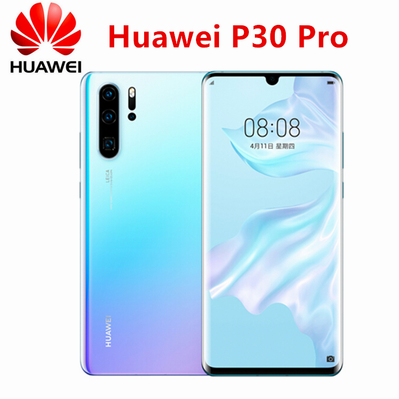 Original New Official Huawei P30 Pro Cell phone Kirin 980 2.6GHz Android 9.1 6.47inch OLED 2340X1080P IP68 NFC 4 Cameras 40MP|Cellphones| - AliExpress