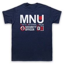 DISTRICT 9 D9 MNU UNOFFICIAL T-SHIRT CULT SCI FI ALIEN MOVIE ADULTS SIZES(China)