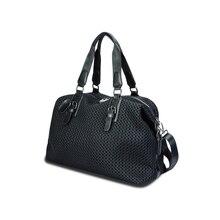 Travel Organizer Fashion Ladies Shoulder Bag Luxury Design Nylon Mesh Tote Bag Large Capacity Removable Storage Bag