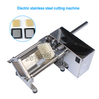 1PC Electric Stainless Steel Potato Cutter Slicer Commercial Crispy French Fries Maker Cucumbers Radishes Cutting Machine 220V фото