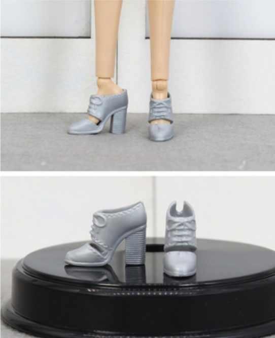新しいスタイルドールシューズおもちゃの靴アクセサリー bb 1:6 人形 A117