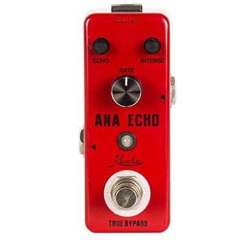 Rowin LEF-303 Guitar Delay Pedal Ana Echo Pedals For Electric Guitars Bass Analog Delay Effect Pedal rowin analog dumbler guitar effect pedal