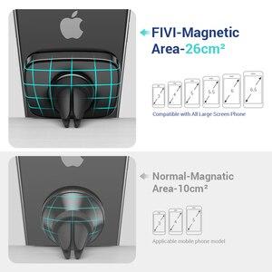 Image 3 - FIVI voiture support de téléphone magnétique pour téléphone portable évent aimant support de téléphone pour Iphone 11 11 Pro Max Xr support de voiture