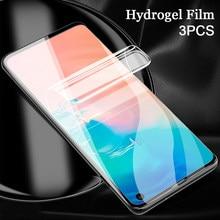 Гидрогелевая пленка для Samsung Galaxy A51, A71, A60, A70, A70S, A80, защита экрана с полным покрытием, не стекло, 3 шт.