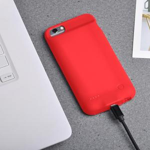 Image 3 - 2800mAh pil şarj cihazı için akıllı iPhone6/6s/pil kutusu güç bankası şarj edici kılıf kılıfları Ultra ince harici sırt çantası