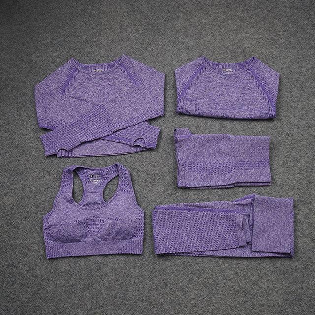 Purple 5 pcs