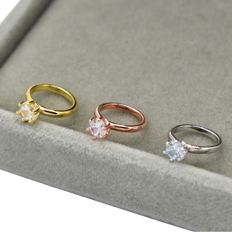 Newborn Photography Props Faux Diamond Ring Baby Shooting Photo Prop Jewelry  72XC