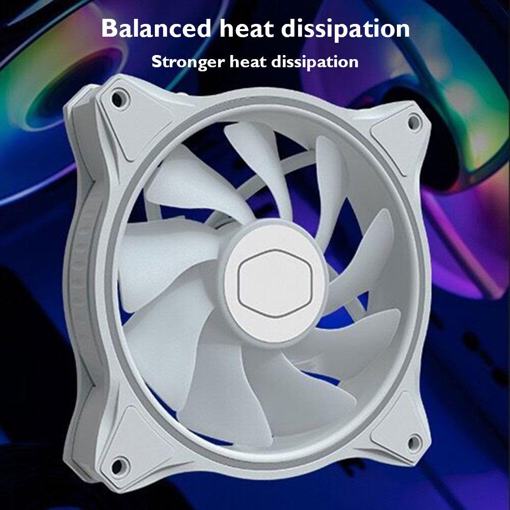 caso do computador ventilador de refrigeração silencioso