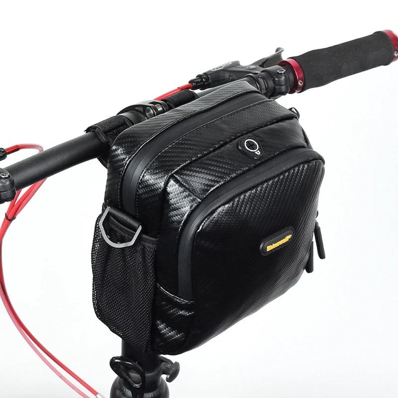 Bike Handlebar Bag Road Bike Front Tube Carbon Bag Cycling Shoulder Bag Mtb Waterproof Bicicleta Bag Bicycle Accessories Bicycle Bags Panniers Aliexpress
