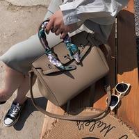 Tote Handbag Solid Color Bags Women Ladies Shoulder Fashion PU Commute Large Capacity