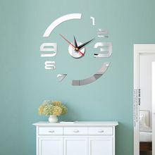 Настенные часы «сделай сам» для гостиной новые Акриловые кварцевые