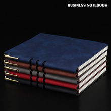 A5 Leather Notebook Notepad Business Planner Notebook Agenda Bujo Diary Journal Note Book For Office School Stationery Supplies 1pcs lot romantic london paris a5 book diary notebook journal notepad school office stationery