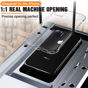 Image 5 - Transparent Protection Case For iPhone 11 Pro X XS Max Four Corner Strengthen Silicon Clear Cover For iPhone 11 pro max 7 8 Plus