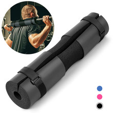 Barbell Shoulder Pad Weightlifting Shoulder Protecter Foam Squat Pad Gym Pull Up Gripper Equipment Hip Thrusts Squats and Lunges