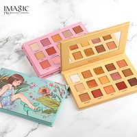 IMAGIC Lidschatten-palette 15 Farben Matte Schimmer Glitter Matte Paleta De Maquiagem Collectie Charming Oogschaduw Kleurenpalet
