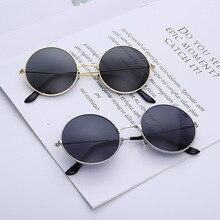 Round Glasses Men Women Steampunk Sunglasses Vintage Sunglasse Women Brand Designer Round Sunglasses 2020 New Mirror UV400