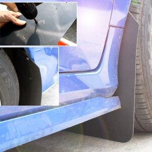 Image 4 - แรลลี่ Universal ด้านหลัง Mud Flaps สำหรับรถกระบะรถ SUV รถบรรทุก Mudflaps Splash Guards Mudguards สกปรกกับดัก Fender Flares