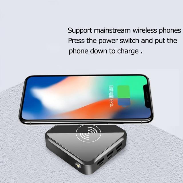 Wireless Charger Power Bank   30000mAh w/ Digital Display 3