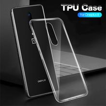 2 sztuk OnePlus 8 Pro 8 przypadku szczupła miękka przezroczysta wysoka wyczyść TPU przypadki telefonów OnePlus 8 9 Pro jeden Plus 8 Pro 7T 7 Pro 6T 6 5T 5 ca tanie tanio CN (pochodzenie) Częściowo przysłonięte etui Transparent Zwykły przezroczyste TPU case for oneplus 8 pro 8 Case for oneplus 7 pro