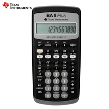 Hot Sale Ti BAII Plus 12 Digits Plastic Led Calculatrice Calculadora  Financial Calculations Students Financial Calculator