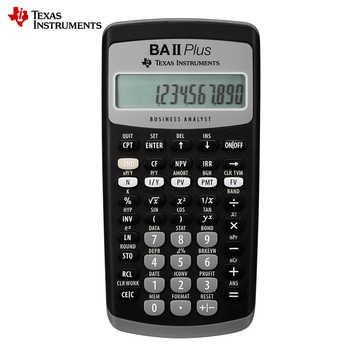 Hot Sale Ti BAII Plus 12 Digits Plastic Led Calculatrice Calculadora Financial Calculations Students Financial Calculator - DISCOUNT ITEM  10 OFF Computer & Office