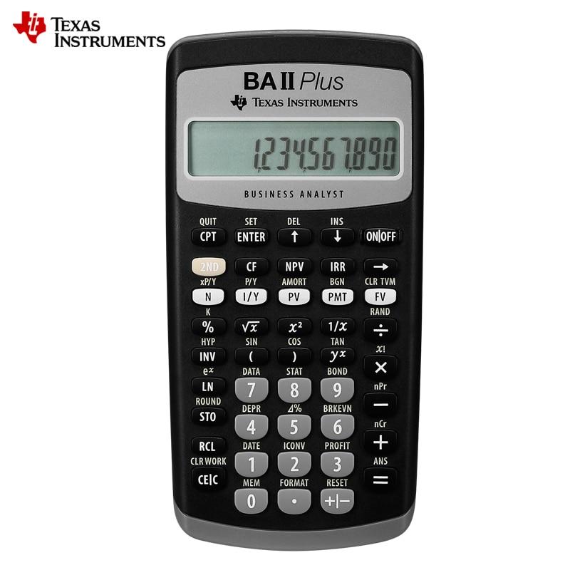 Offre spéciale Ti BAII Plus 12 chiffres en plastique Led Calculatrice Calculadora calculs financiers étudiants Calculatrice financière-in Calculatrices from Ordinateur et bureautique on AliExpress - 11.11_Double 11_Singles' Day 1