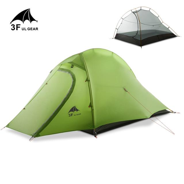 3F UL GEAR 15D Tent 2 Persons Ultralight Double Layer Waterproof 5000mm  2