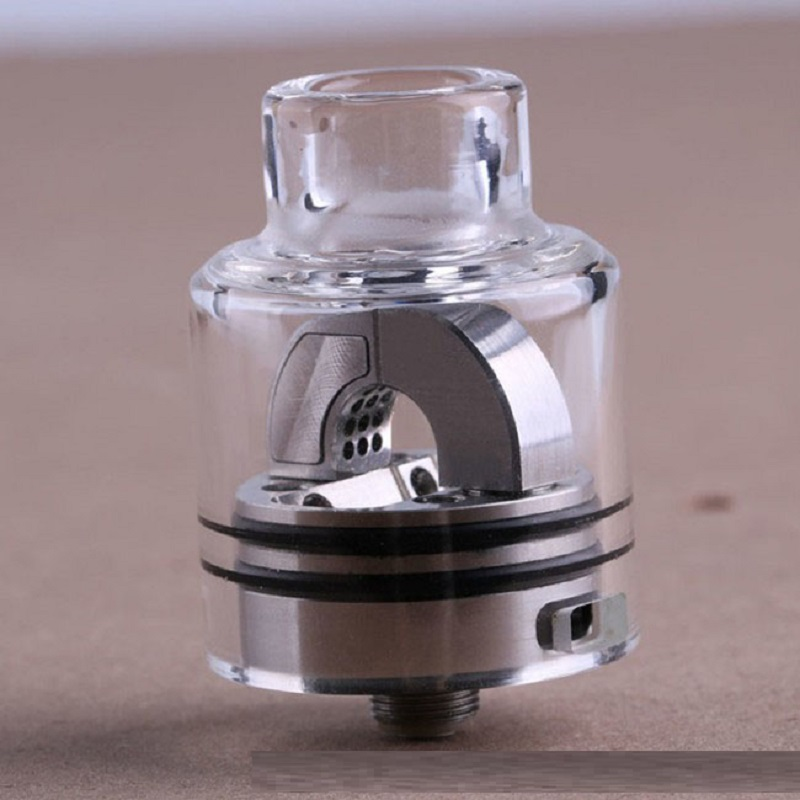 Authentic Hugsvape Ring Lord 27mm RDA Rebuildable Dripping Atomizer With BF Pin For 510 Thread Vape Mod/mech Mod
