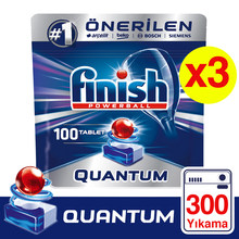 Frete grátis acabamento quantum máquina de lavar louça detergente 3x100 tablet